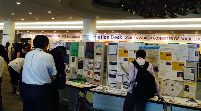 Jet lag acadêmico. Breve balanço do Congresso Mundial da ISA 2014