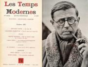 O lançamento de Les Temps Modernes , 1945, possibilitou os seus editores, especialmente Sartre, posicionarem-se como intelectuais engajados